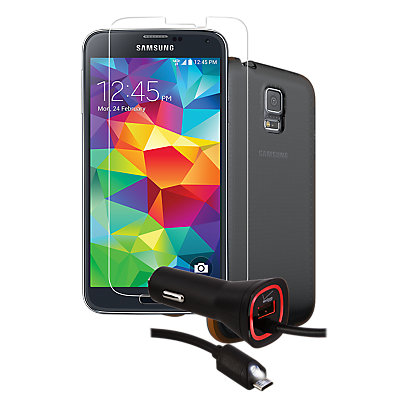 Tempered Glass Bundle for Samsung Galaxy S 5