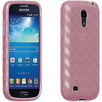 High Gloss Silicone for Galaxy S 4 Mini - Pink