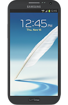 Samsung Galaxy Note II in Titanium Gray