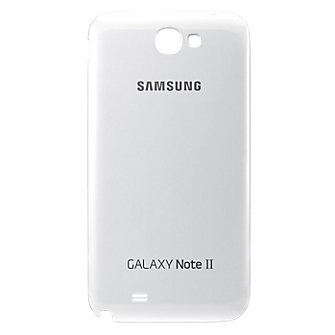 Standard Battery Cover for Samsung Galaxy Note II -White with NFC