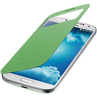 Samsung S-View Flip Cover - Green