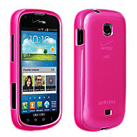 High Gloss Silicone Cover for Samsung Galaxy Stellar - Pink