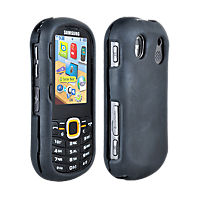 Snap On Silicone Cover for Samsung Intensity II - Black