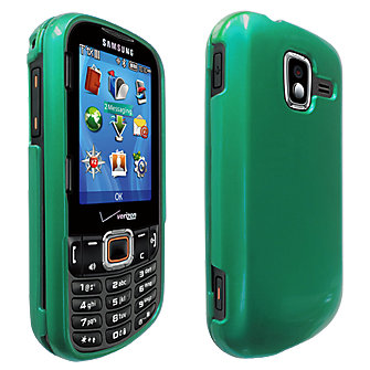 Snap On Cover for Samsung Intensity III - Green