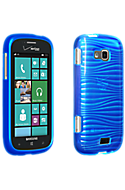 High Gloss Silicone Cover -Blue Picture
