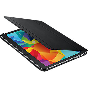 Samsung Book Cover Folio for Galaxy Tab 4 10.1 - Black