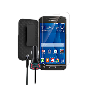 Protection Travel Bundle for Samsung Galaxy Core Prime