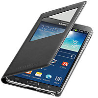 Samsung S- View Cover for Samsung Galaxy Note 3- Black