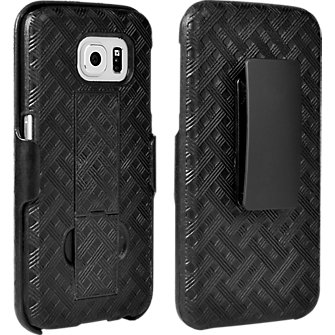 Shell Holster Combo with Kickstand for Samsung Galaxy S 6