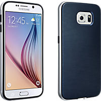 Soft Cover with Bumper for Samsung Galaxy S 6 - Blue