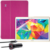 Premium Travel Bundle for Samsung Tab S (Pink)