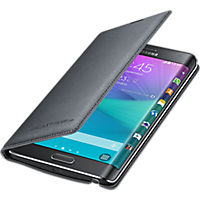 Wallet Cover for Samsung Galaxy Note Edge - Charcoal Black