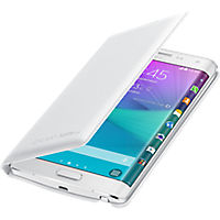 Wallet Cover for Samsung Galaxy Note Edge - Frost White