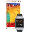 Galaxy GEAR Bundle in Black for Galaxy Note 3