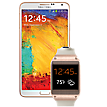 Galaxy GEAR Bundle in Gold for Galaxy Note 3