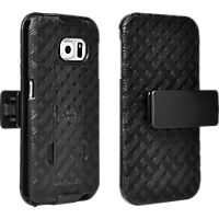 Shell Holster Combo with Kickstand for Samsung Galaxy S 6 Edge