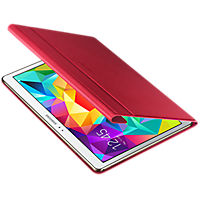 Samsung Tab S 10.5 Book Cover - Glam Red