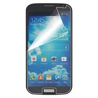 Anti-Scratch Display Protectors for Galaxy S 4