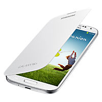 Flip Book Cover for Samsung Galaxy S 4 - White