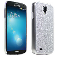 Glitter Cover for Samsung Galaxy S 4 - Silver