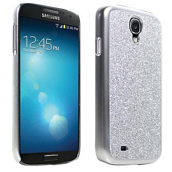 Glitter Cover for Samsung Galaxy S 4 - Silver