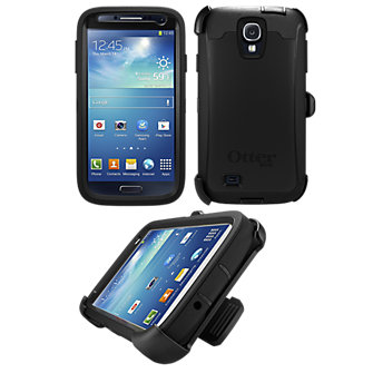 OtterBox Defender Series for Samsung Galaxy S 4 - Black