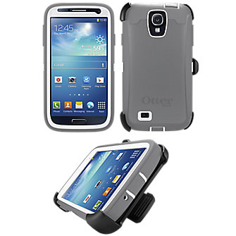 OtterBox Defender Series for Samsung Galaxy S 4 - White
