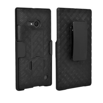 Shell Holster Combo with Kickstand for Microsoft Lumia 735