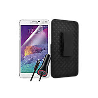 Shell/Holster Bundle for Samsung Galaxy Note 4