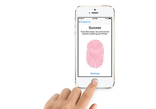 Touch ID finger print sensor