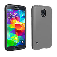 Soft Cover for Galaxy S 5 - Gray