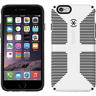 Speck CandyShell Grip for iPhone 6 - White/Black
