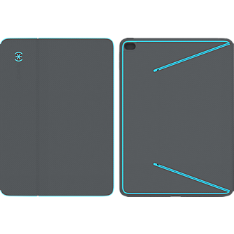 Speck DuraFolio for iPad Air 2 - Blue/Grey
