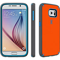Speck MightyShell for Samsung Galaxy S 6 - Carrot Orange/Speck Blue/Slate Grey
