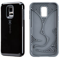 Speck CandyShell AMPED for Galaxy S 5 - Black