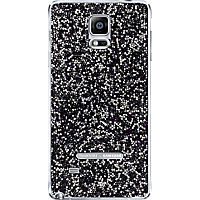 Swarovski Crystal Battery Cover for Galaxy Note 4 - Purple
