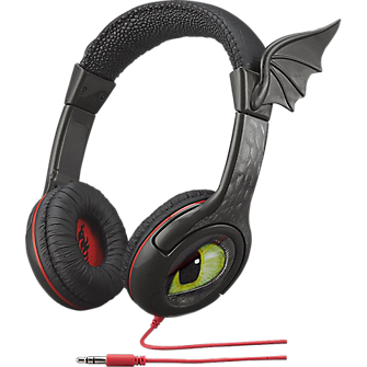 KIDdesigns How to Train Your Dragon 2 High-Flying Over-The-Ear Youth Headphones