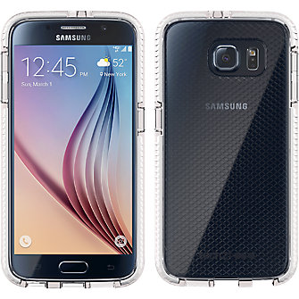 Tech21 Evo Check for Samsung Galaxy S 6 - Clear/White