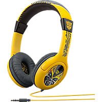 KIDdesigns Transformers Cybertronics Youth Over-The-Ear Headphones