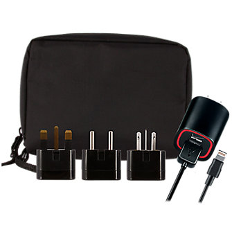 VZW Premium 2.1-Amp Wall Charger with International Kit