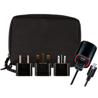 Micro USB International Charger w/ International Plug-Kit