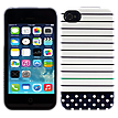 Uncommon Stripe Dot Navy Capsule for iPhone® 4/4s