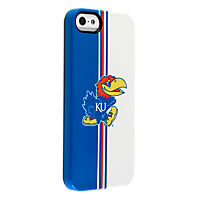 Uncommon University of Kansas Vertical Stripe Deflector Case for iPhone 5/5s