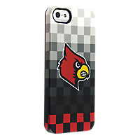 Uncommon University of Louisville Pixel Stripe Deflector Case for iPhone 5/5s