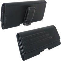 Universal Vegan Leather Pouch with Belt Clip - Small
