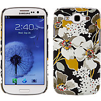 Vera Bradley White Dogwoods Hard Cover for Samsung Galaxy S III
