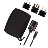 Micro USB International Charger w/ International Plug-Kit