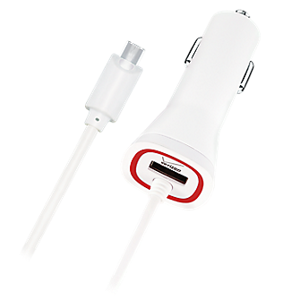 Verizon Micro USB Vehicle Charger - White