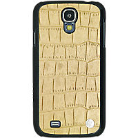 Viva - Croc Shell Case for Samsung Galaxy S 4 - Gold - By Jennifer Lopez