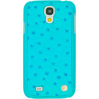Viva - Ostrich Case for Samsung Galaxy S 4 - Blue - By Jennifer Lopez